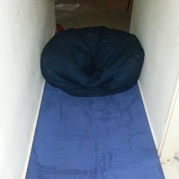 שהבנתי שלא נגיע למקלט, עברתי למסדרון, אחר כך כבר לחדר  צילום טלי בריל