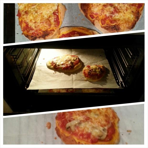 פיצה אפרת שהילדים הכינו צילום טלי בריל