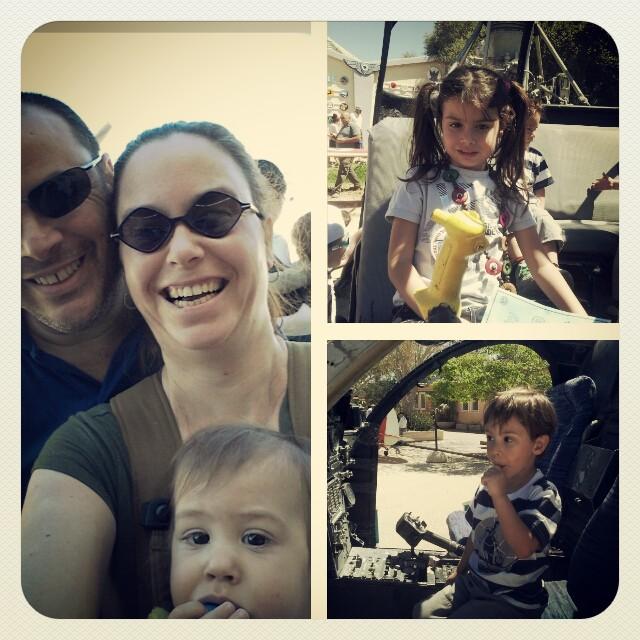 חמש דק' מבאר שבע, טיול משפחתי בהרכב מלא