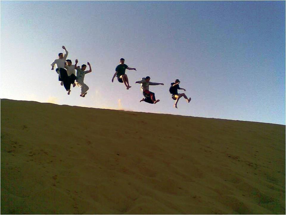גולשים צילום יחצ באדיבות תיירות הר נגב