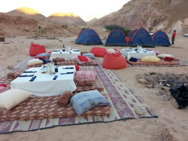 לינה מפנקת בלב המדבר צילום יחצ באדיבות טיול אחר