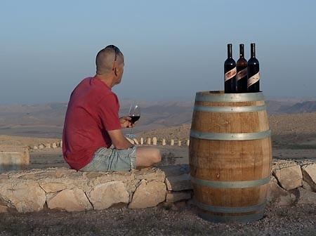 שקיעה ויין שילוב מושלם. צילום באדיבות יקב רוג'ום