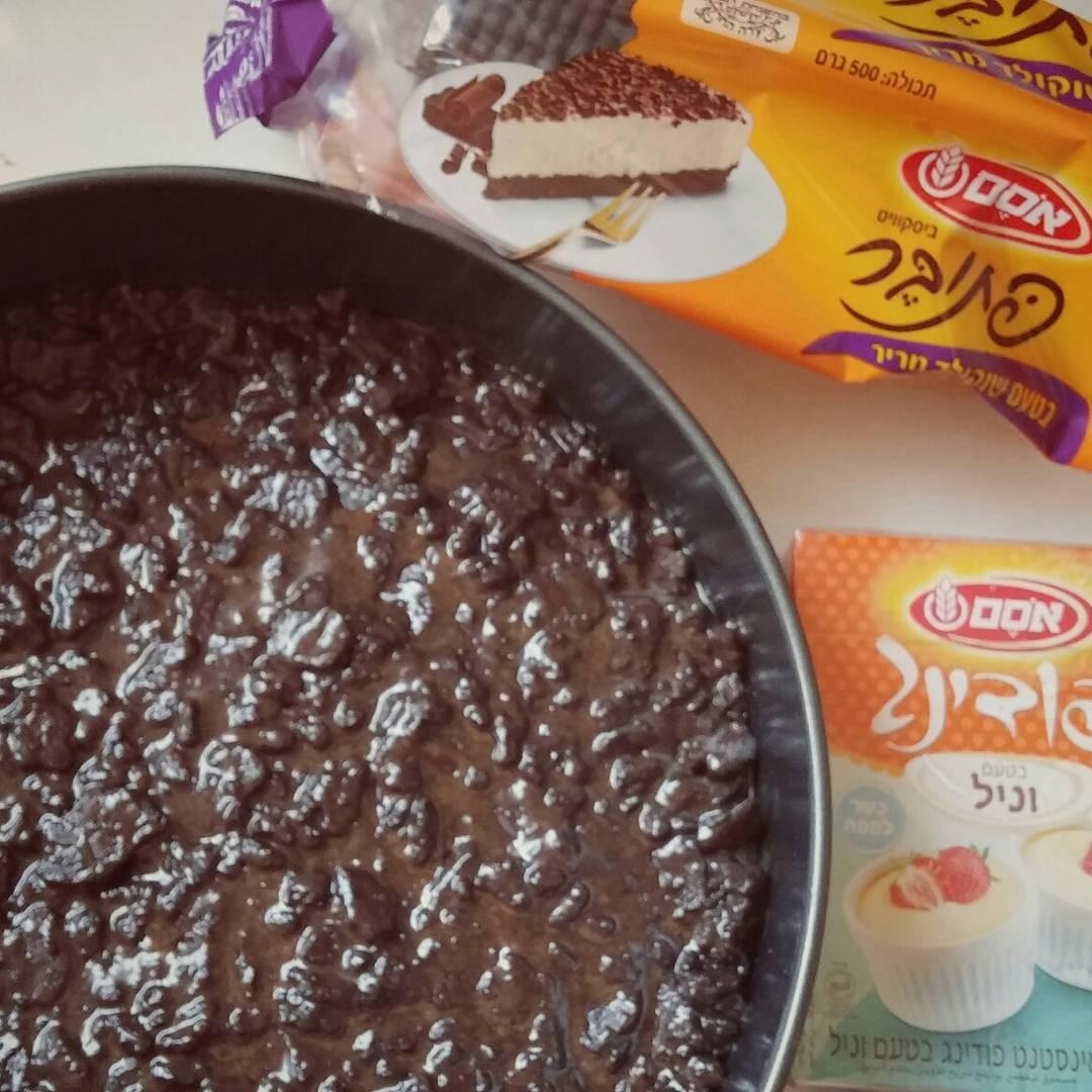 עוגת כדורי שוקולד