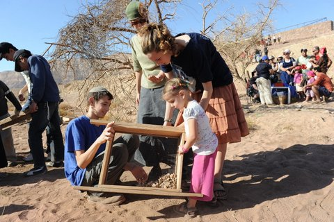 ארכאולוגים ליום - ארכיון פארק תמנע