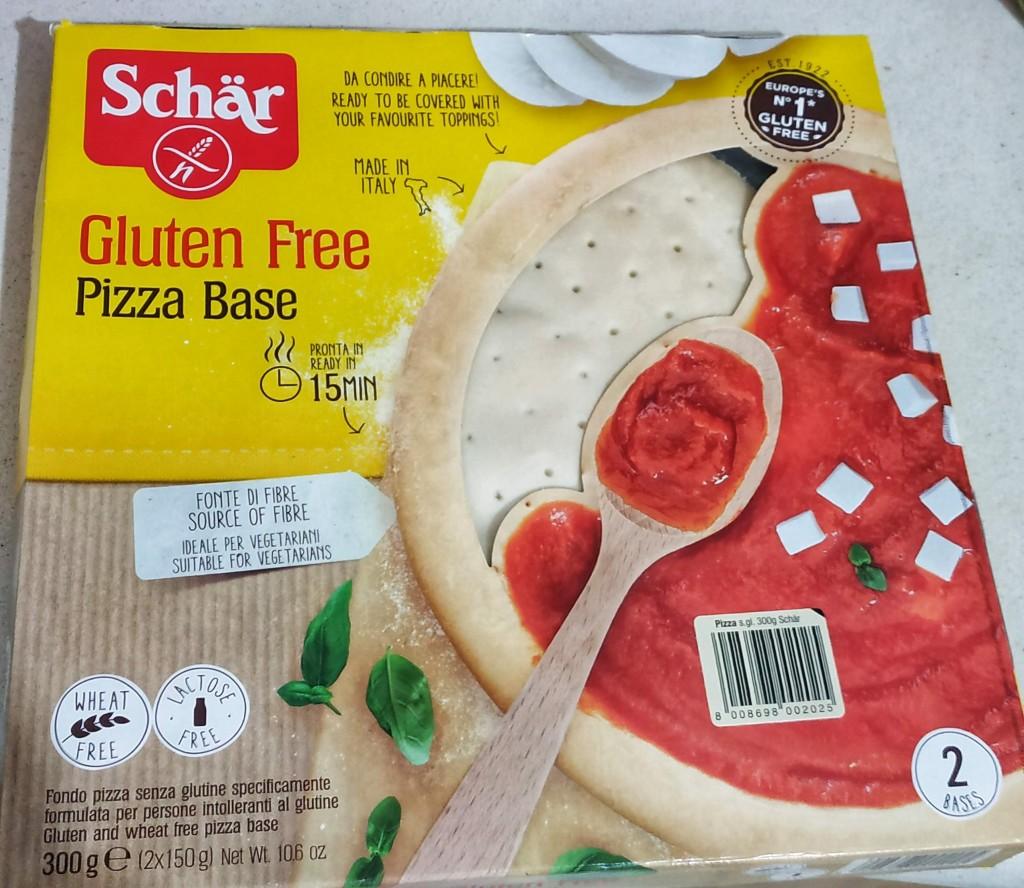 """בסיס לפיצה ללא גלוטן של חברת """"שר"""" (צילום: Schär)."""