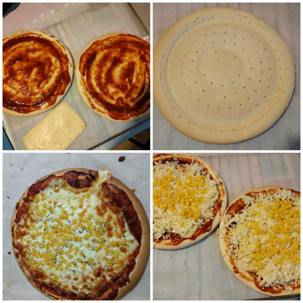 פיצה ללא גלוטן שלבי הכנה - צילום טלי בריל